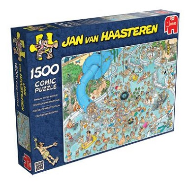 Jumbo Jan van Haasteren puzzel Tropisch Zwemparadijs 1500 stukje