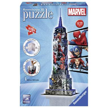 Ravensburger Avengers 3Dpuzzel Empire State Building