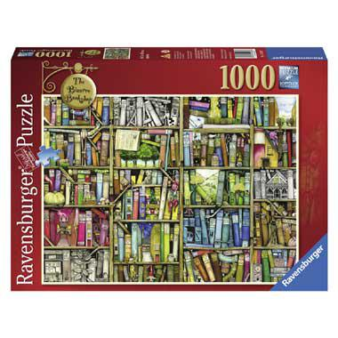 Ravensburger puzzel Colin Thompson The Bizarre Bookshop 1000 stu