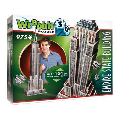 Tactic 3D puzzel Empire State Building