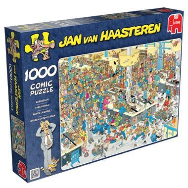 Jumbo Jan van Haasteren puzzel Kassa erbij! 1000 stukjes 1000 st