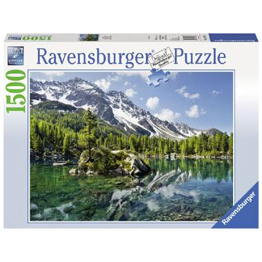 Ravensburger puzzel Bergmagie 1500 stukjes