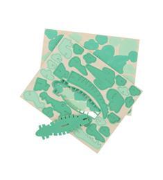 HEMA 3D Puzzel Krokodil 58 stukjes vanaf 5 jaar