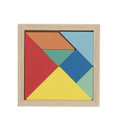 HEMA Houten Tangram Puzzel 7 stukjes vanaf 3 jaar