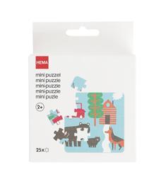 HEMA Mini Puzzel dieren op de boerderij 25 stukjes vanaf 2 jaar