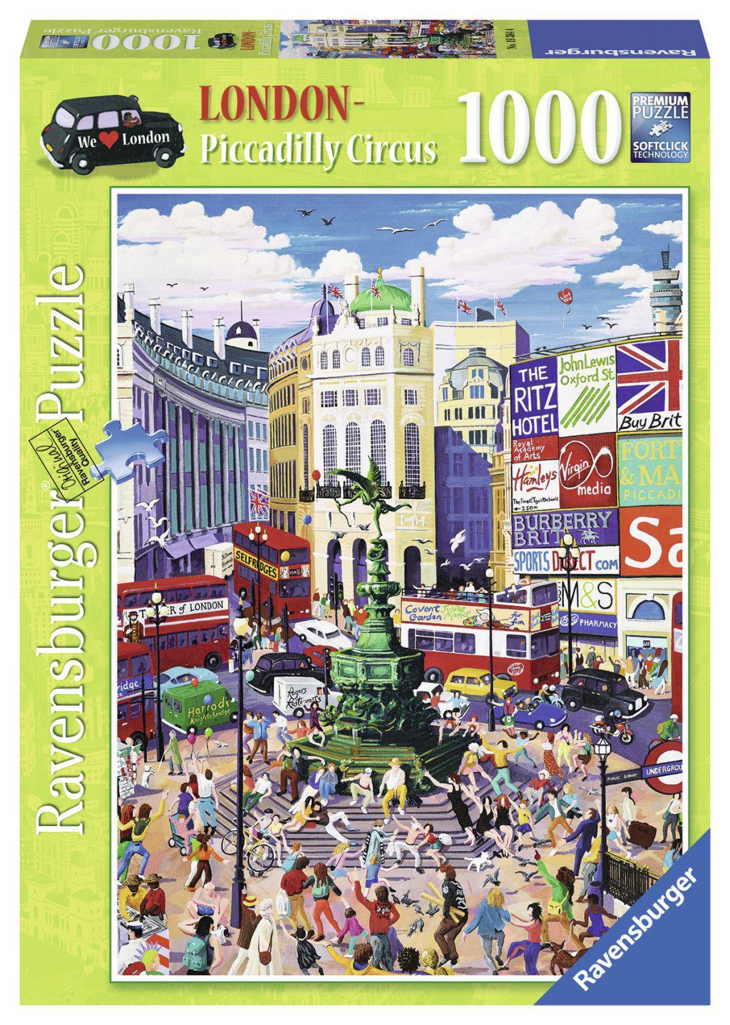 Ravensburger puzzel Piccadilly Circus 1000 stukjes