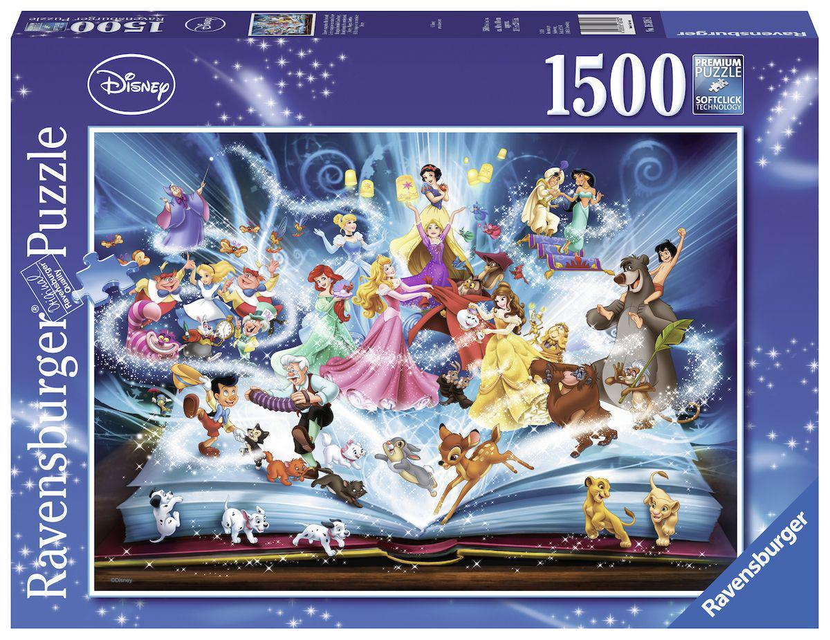 Ravensburger Disney puzzel Magisch Sprookje 1500 stukjes