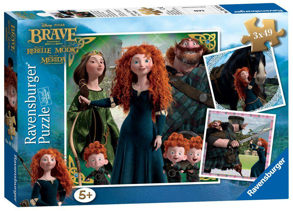 Ravensburger puzzel Disney Brave 49 stukjes vanaf 5 jaar