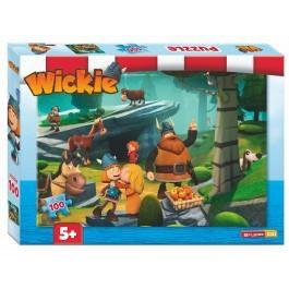 Studio100 puzzel Wickie 100 stukjes vanaf 5 jaar