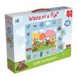 Jumbo Puzzel Woezel en Pip grote zoekpuzzel 53 stukjes vanaf 2 j
