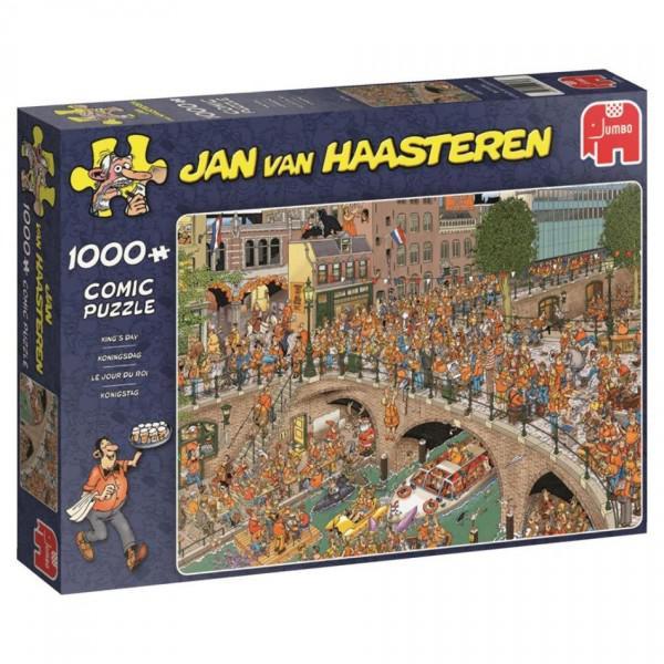 Jan van Haasteren Koningsdag (1000) 1000 stukjes