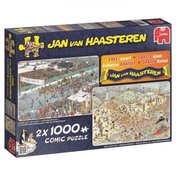 Puzzel Jan Van Haasteren Winterpret 1000 stukjes