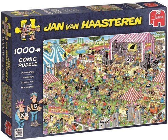Jan Van Haasteren Popfestival 1000 stukjes