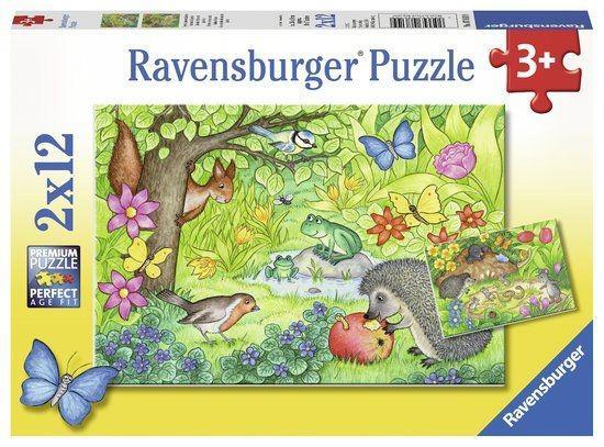 Ravensburger Puzzel Dieren In Onze Tuin 12 stukjes vanaf 3 jaar